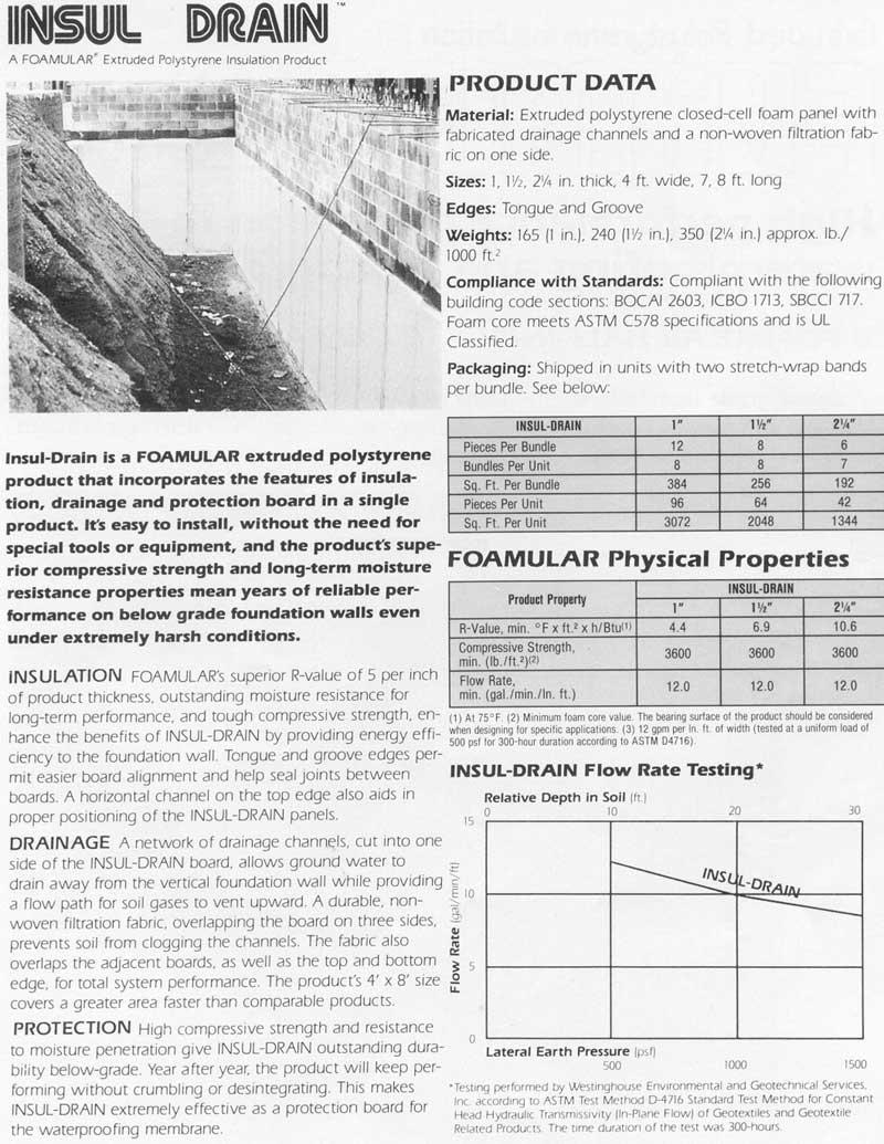 Polyisocyanurate Rigid Foam Insulation Owens Corning